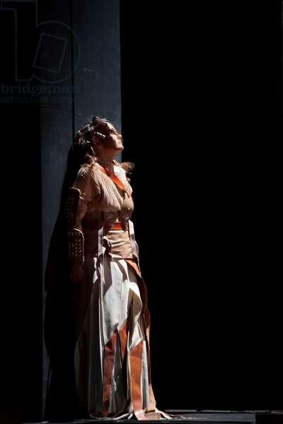 Evelyn Herlitzius as Brünnhilde (photo)