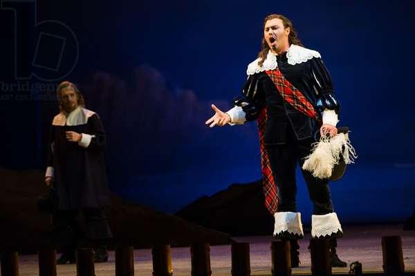 Vitaliy Bilyy as Lord Enrico Ashton in the opera 'Lucia di Lammermoor', rehearsal at Teatro de la Maestranza, October 2018 (photo)