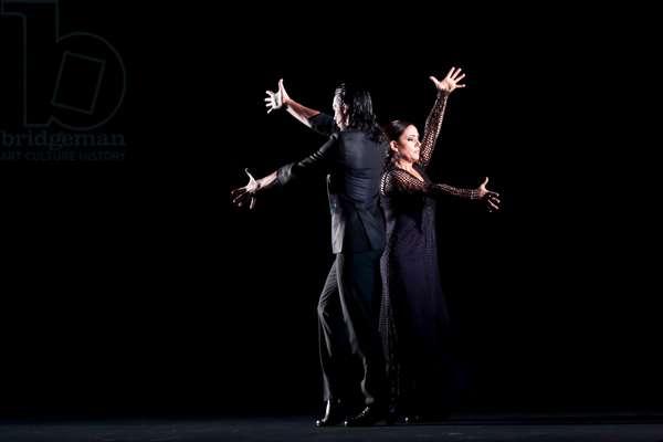 Eva Yerbabuena in ballet flamenco (photo)