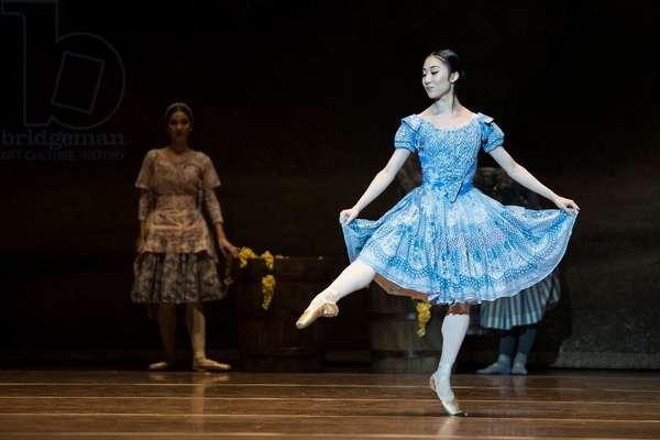 Haruhi Otani as Giselle, Teatro de la Maestranza, Seville, Spain, 2021 (photo)
