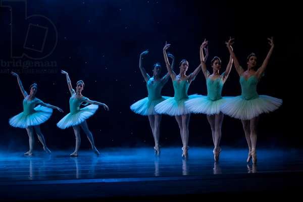 Dancers perform dryads dance (photo)