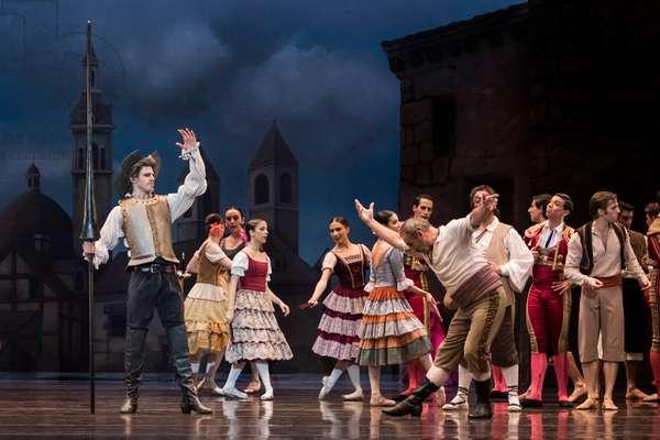 Dancer as Don Quixote (photo)