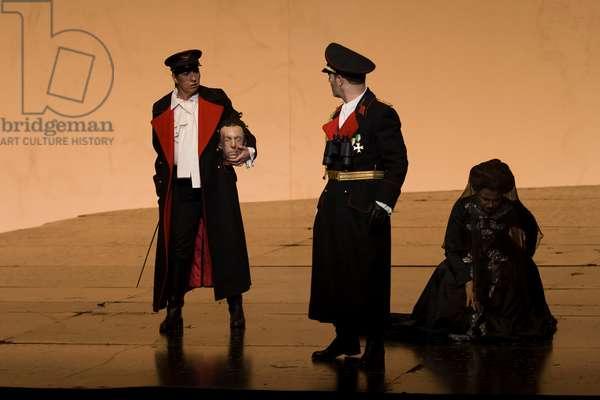 Lola Casariego as Sesto and Marina Rodríguez - Cusi as Cornelia (photo)