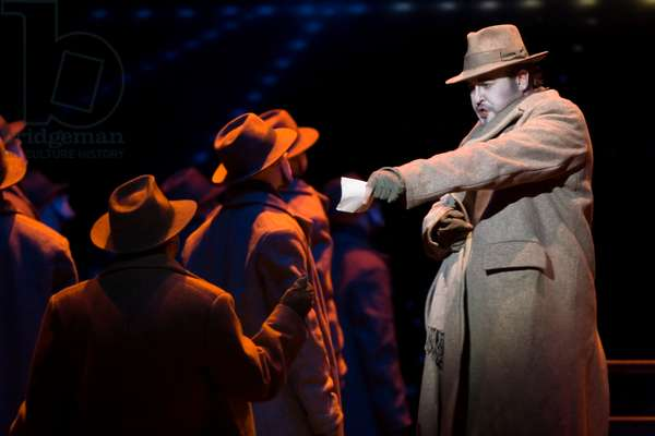 Christopher Robertson as Doktor Faust (photo)