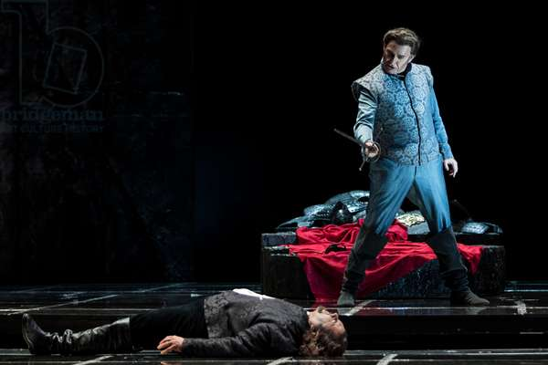 Gregory Kunde as Otello and Angel Odena as Jago (photo)