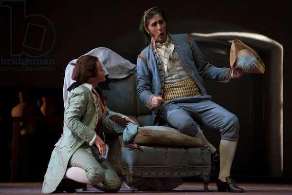 Roberto Tagliavini as Figaro and Jana Kurucová as Cherubino (photo)