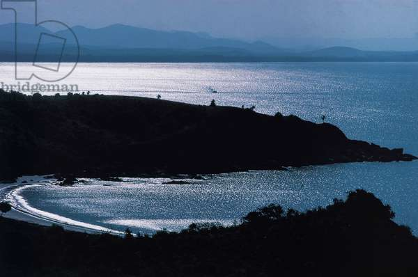 Well-sheltered bay south of Karwar (photo)