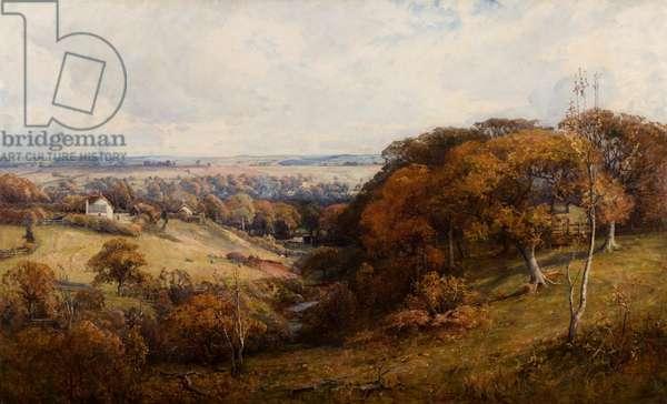 The Falls of Tummel, 1887 (oil on canvas)