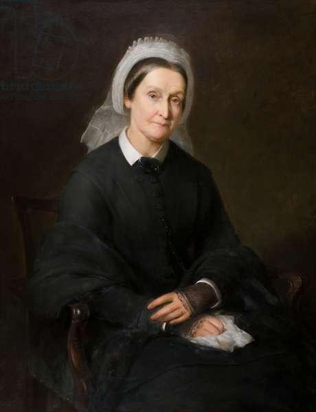 Mrs Elizabeth Molison (1801-1888), 19th century (oil on canvas)