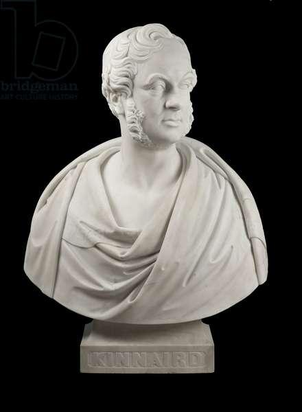 George William Fox Kinnaird, 9th Lord Kinnaird, c.1859-61 (marble)