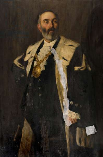 Provost Hugh Ballingall (1840-1910), 1884-86 (oil on canvas)