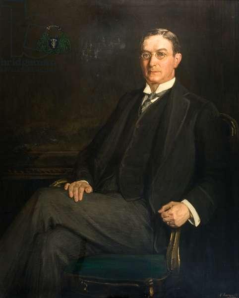 Sir James Urquhart (1864-1930), c.1914 (oil on canvas)