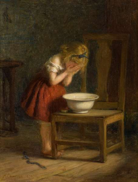 The Toilet, 1870 (oil on canvas)