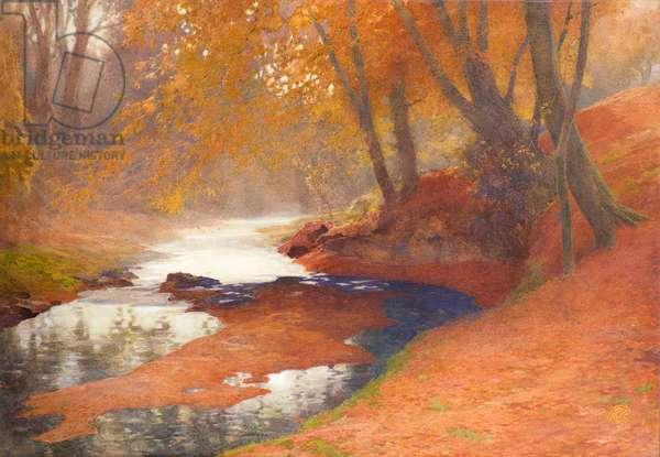 Autumn Scene (w/c)