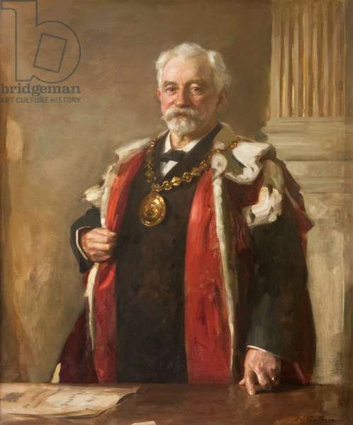 Sir Charles Barrie (1840-1912), 1907 (oil on canvas)