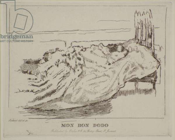 Mon Bon Dodo, 1915 (etching)