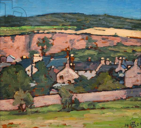 Newburgh-on-Tay, 1926 (oil on canvas)
