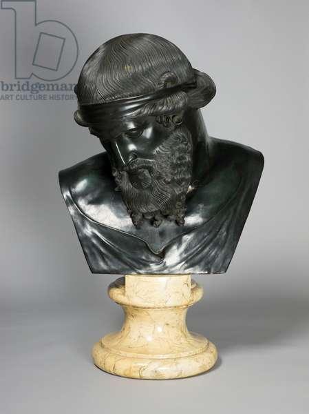 Dionysus, c.1870-1915 (bronze)