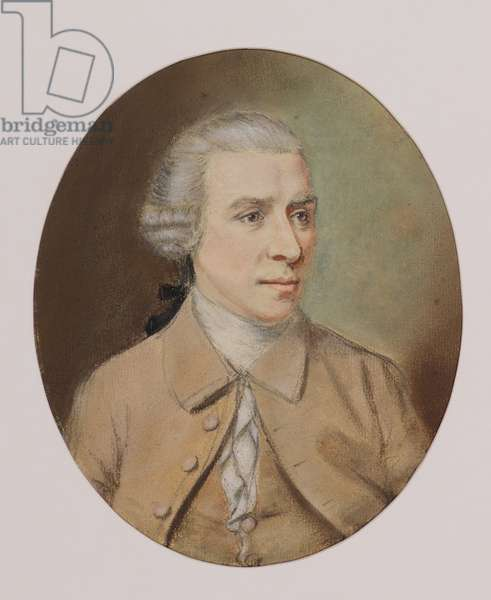 Portrait of a Man (or Gavin Hamilton), 18th century (pastel)