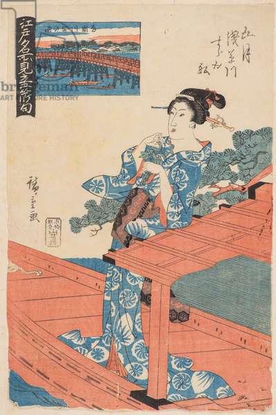 Fifth Month (Gogatsu), 19th century (woodblock print)