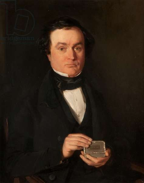 James C Ross, Clothier, Dundee (d.1850), 19th century (oil on board)