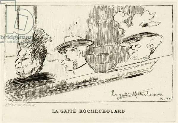 La Gaite Rochechouart, 1906 (etching)