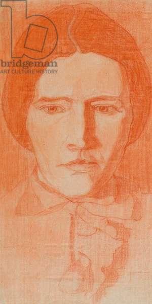 Portrait of the Artist's Mother, 1898 (chalk)