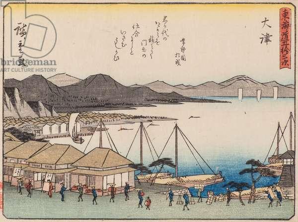 Otsu, 1840-42 (woodblock print)