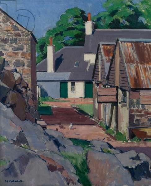 The Farm, Isle of Mull, 1927 (oil on canvas)