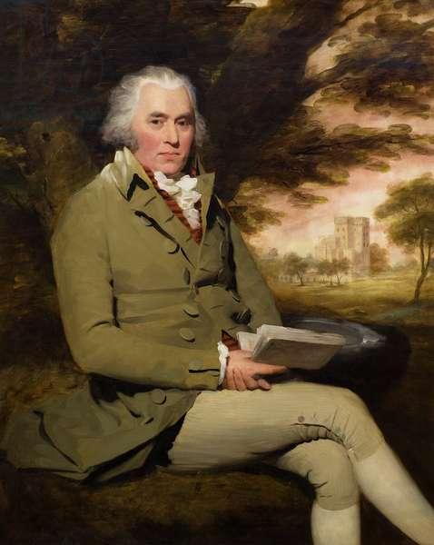 George Paterson of Castle Huntly, c.1790 (oil on canvas)