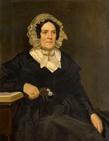 Mrs Andrew Spence, 19th century (oil on canvas)