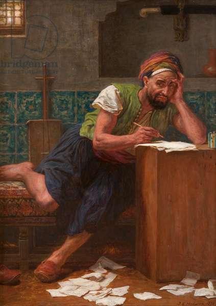 The Poet Laureate, 1878 (oil on canvas)