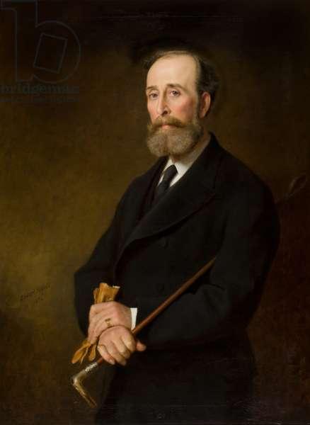 Sir William Ogilvy Dalgleish of Errol Park (1832-1913), 1884 (oil on canvas)