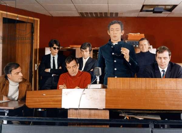 Le pacha by Georges Lautner, d'apres un roman by Jean Laborde, with Serge Gainsbourg dans son propre role, 1967 (photo)