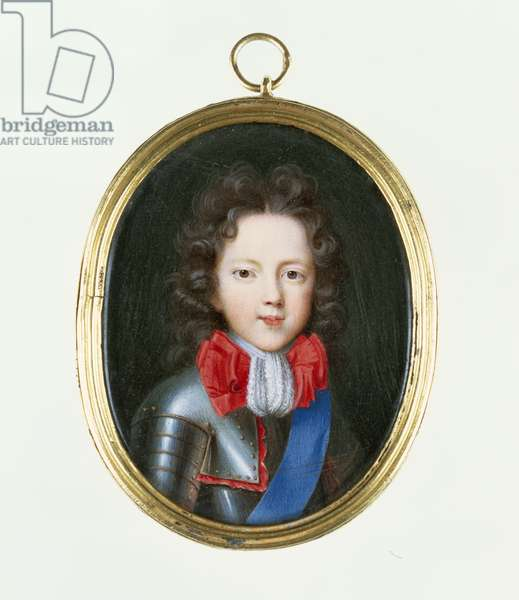 Miniature of James Stuart, the Old Pretender, c.1700