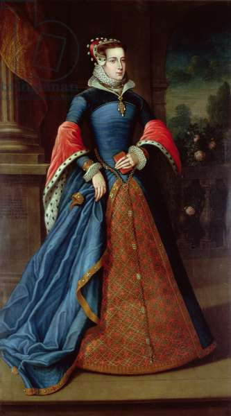 Lady Mary Fitzalan (oil on canvas)
