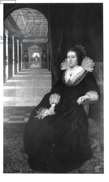Portrait of Aletheia, wife of Thomas Howard, 14th earl of Arundel, c.1618 (oil on canvas)