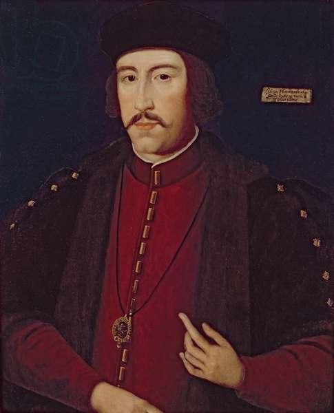 John Howard, 1st Duke of Norfolk (oil on panel)