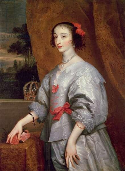 Queen Henrietta Maria (oil on canvas)