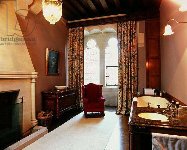 The Windsor bathroom, Arundel Castle (photo)