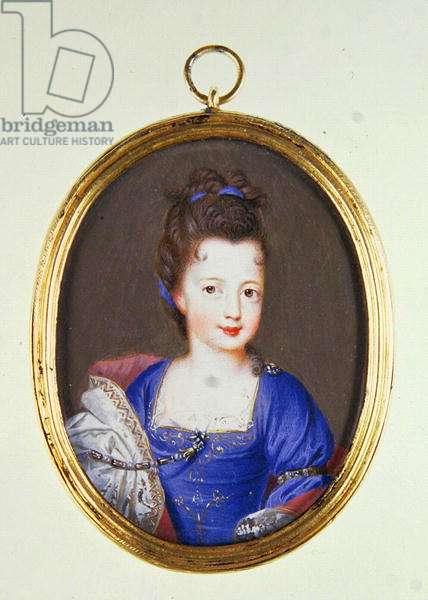 Miniature of Princess Louise Stuart, c.1700