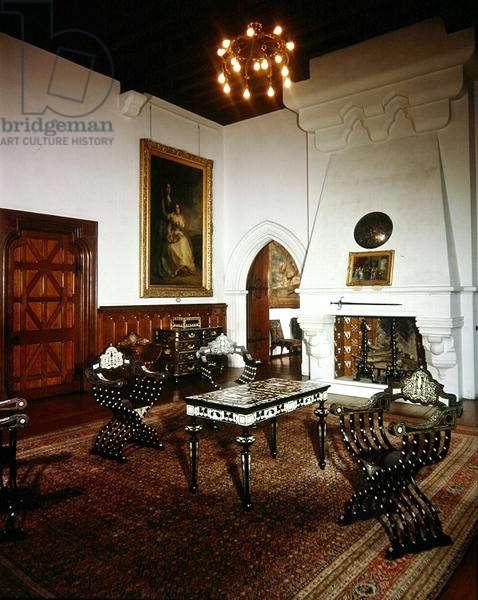 The Breakfast Room, Arundel Castle (photo)