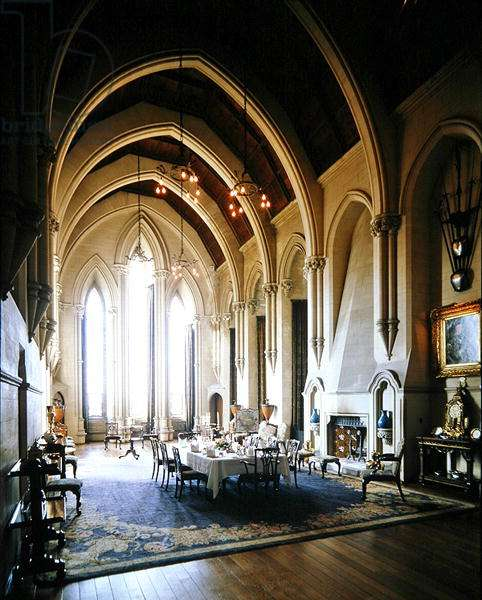 The Dining Room, Arundel Castle (photo)