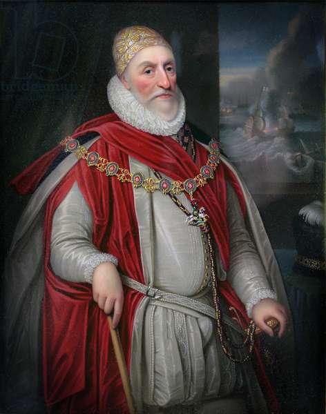 2nd Lord Howard of Effingham (oil on panel)