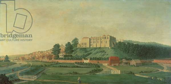 Arundel Castle from the East, c.1770 (oil on canvas)