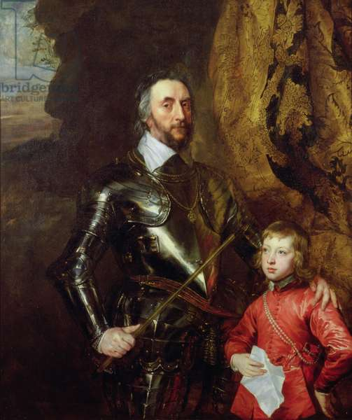 Thomas Howard, 2nd Earl of Arundel, with his Grandson Thomas, later 5th Duke of Norfolk, 1635-36 (oil on canvas)