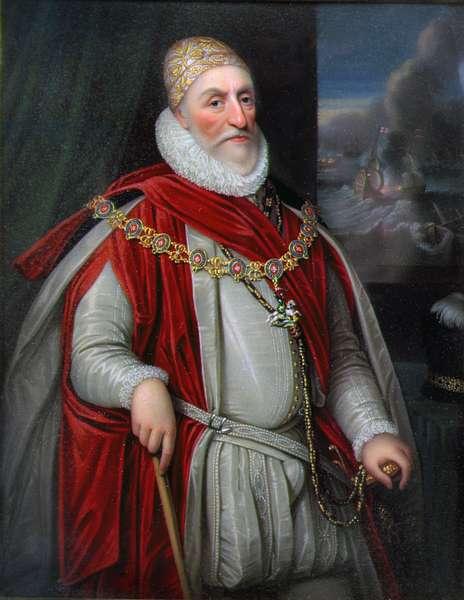 Charles Howard, 1st Earl of Nottingham (oil on canvas)