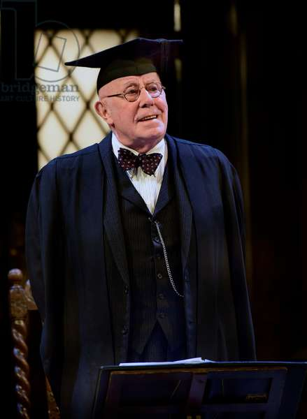 Richard Wilson playing the Headmaster in Alan Bennett's play Forty Years On, Chichester Festival Theatre, Chichester, Sussex, UK. 25.04.2017.