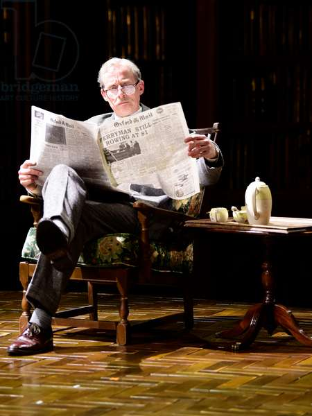 Andrew Havill playing Warnie in Shadowlands a play written by William Nicholson at Chichester Festival Theatre, West SAussex, UK 1 May 2019  , 2019 (photo)