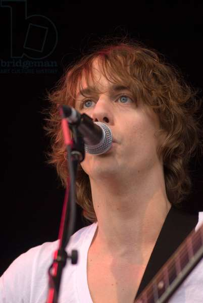 Johnny Borrell - portrait